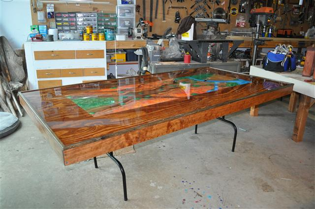 first ever prototype gaming table - Gaming Tables